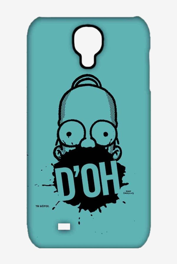 Simpsons D'OH Teal Case for Samsung S4