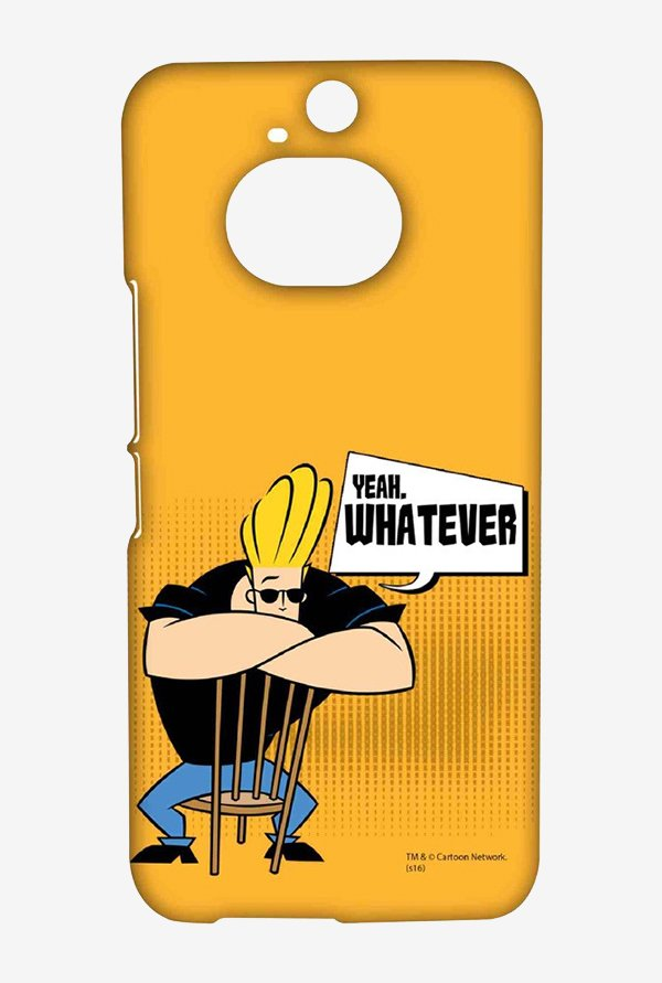 Johnny Bravo Yeah Whatever Case for HTC One M9 Plus