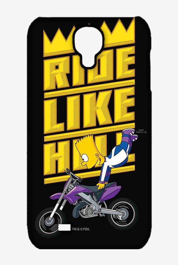 Simpsons Ride Like Hell Case for Samsung S4
