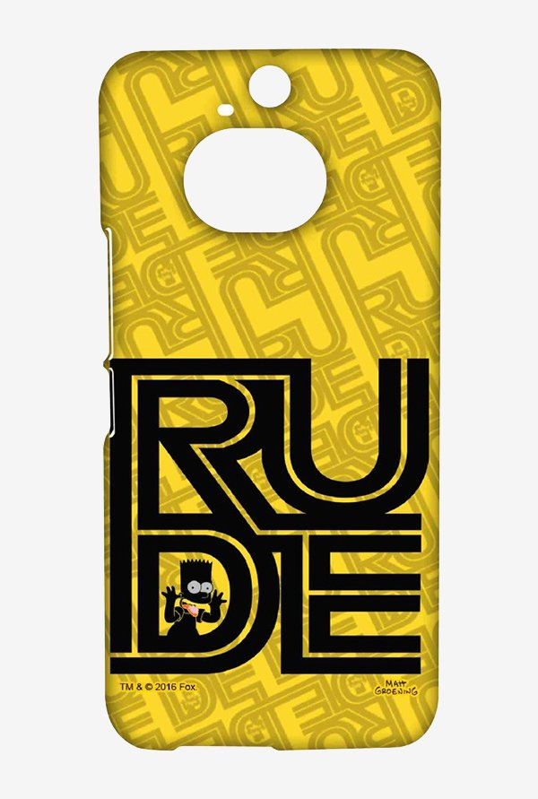 Simpsons Rude Case for HTC One M9 Plus
