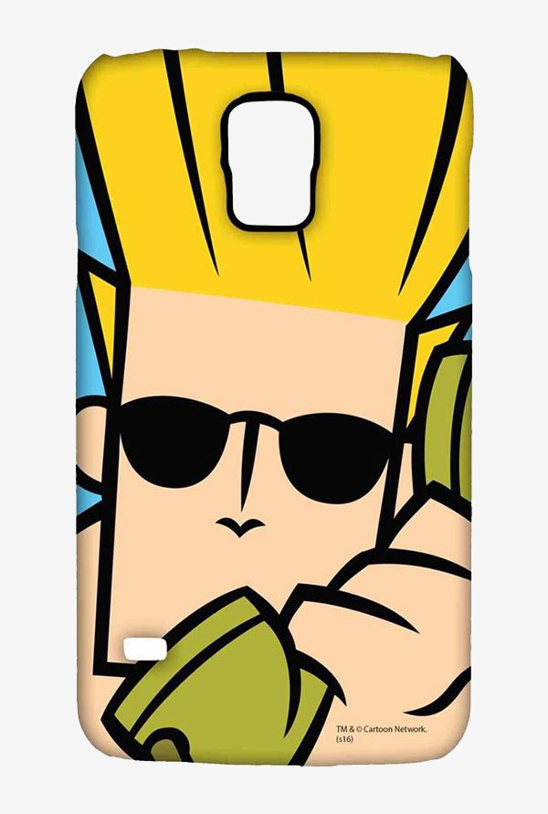 Johnny Bravo On The Phone Case for Samsung S5