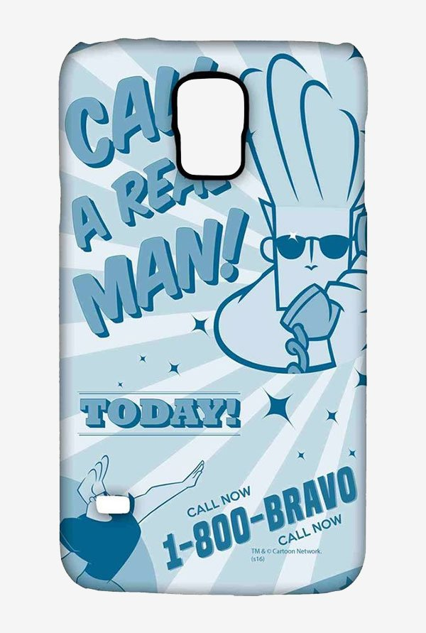 Johnny Bravo The Real Man Case for Samsung S5