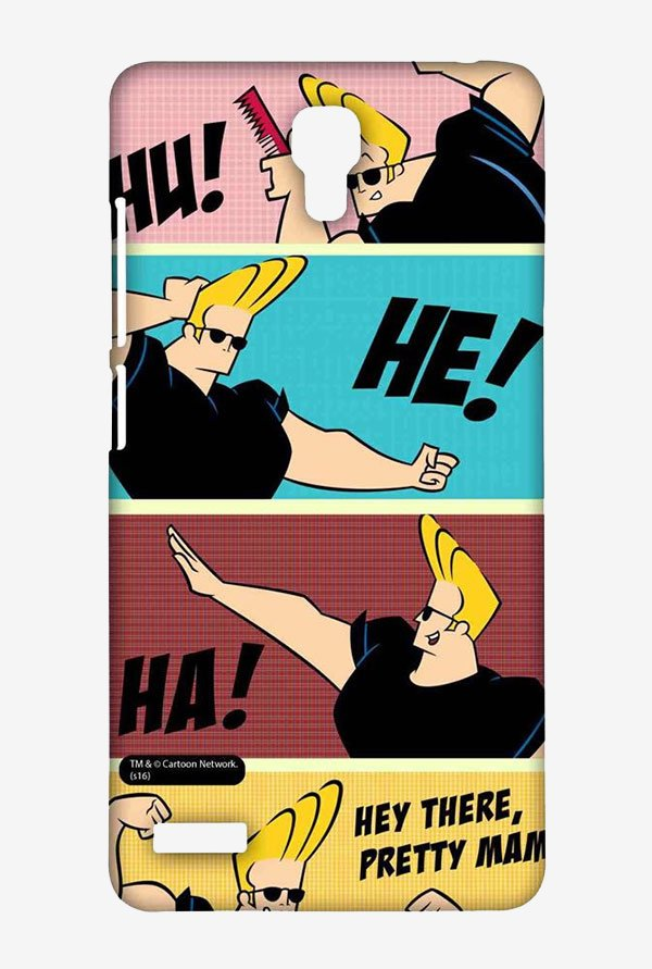Johnny Bravo Posing Case for Xiaomi Redmi Note Prime