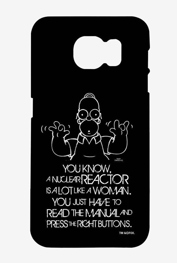 Simpsons Nuclear Reactor Case for Samsung S6