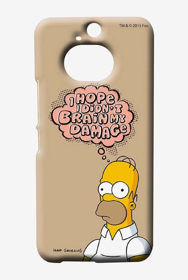 Simpsons Brain Humour Case for HTC One M9 Plus