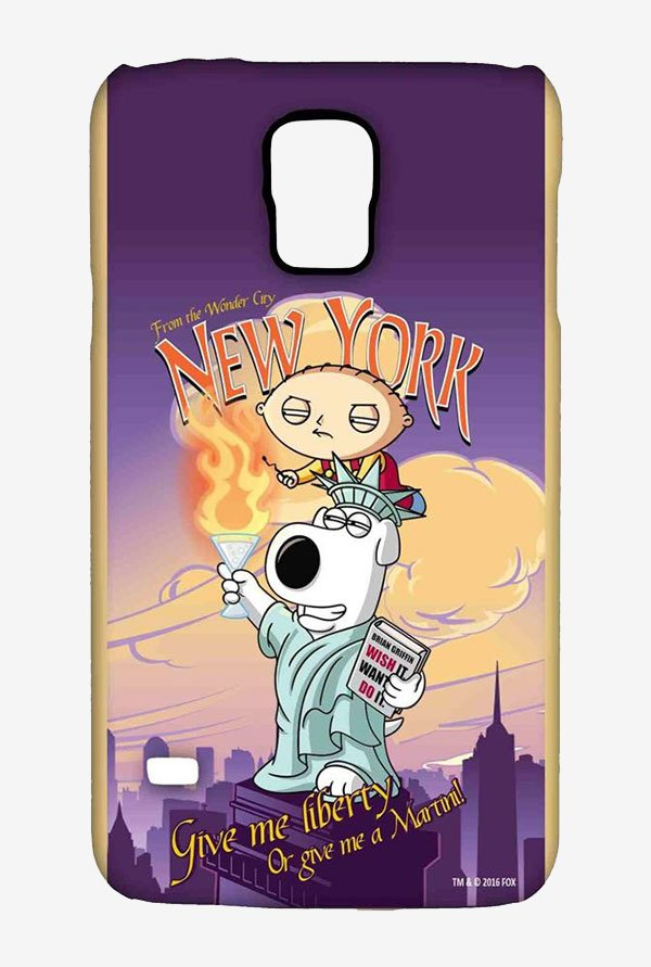 Family Guy Brian Liberty New York Case for Samsung S5