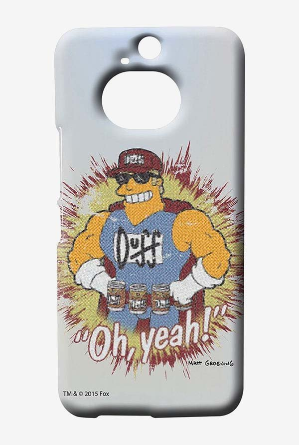 Simpsons Duff Oh Yeah Case for HTC One M9 Plus
