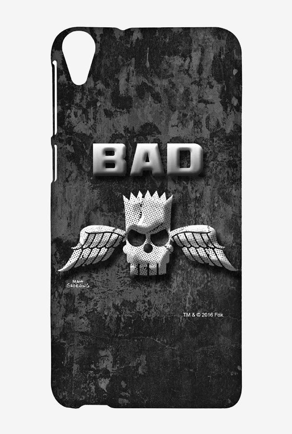 Simpsons Cracked Wall Bart Case for HTC Desire 820