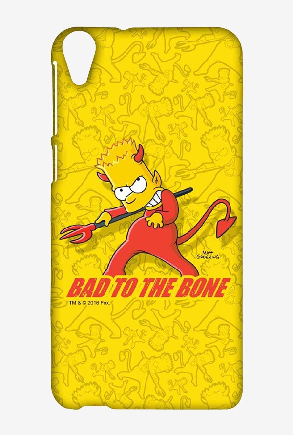 Simpsons Bad To The Bone Case for HTC Desire 820