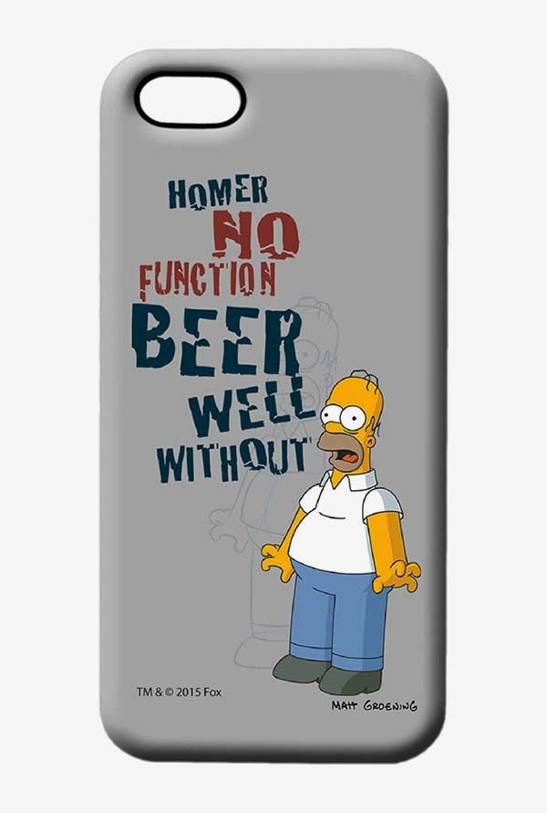 Simpsons Homers Poison Case for iPhone 5/5s