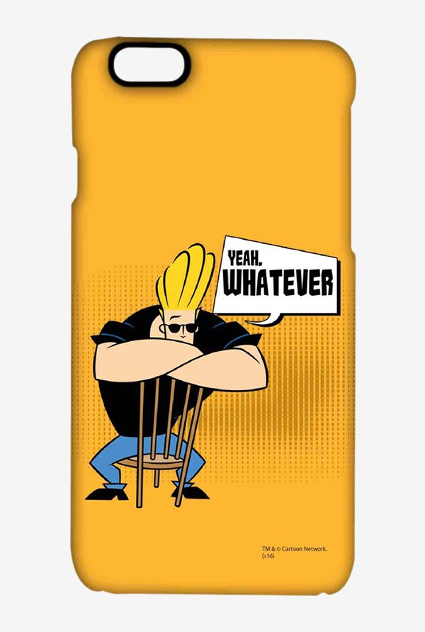 Johnny Bravo Yeah Whatever Case for iPhone 6