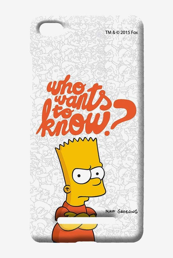 Simpsons Who Wants To Know Case for Xiaomi Mi4i