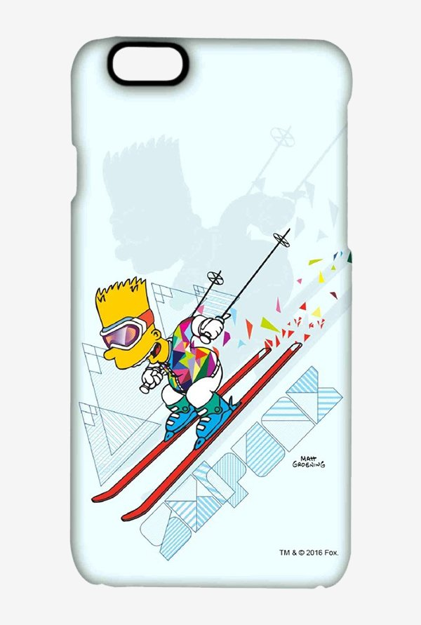 Simpsons Ski Punk Case for iPhone 6