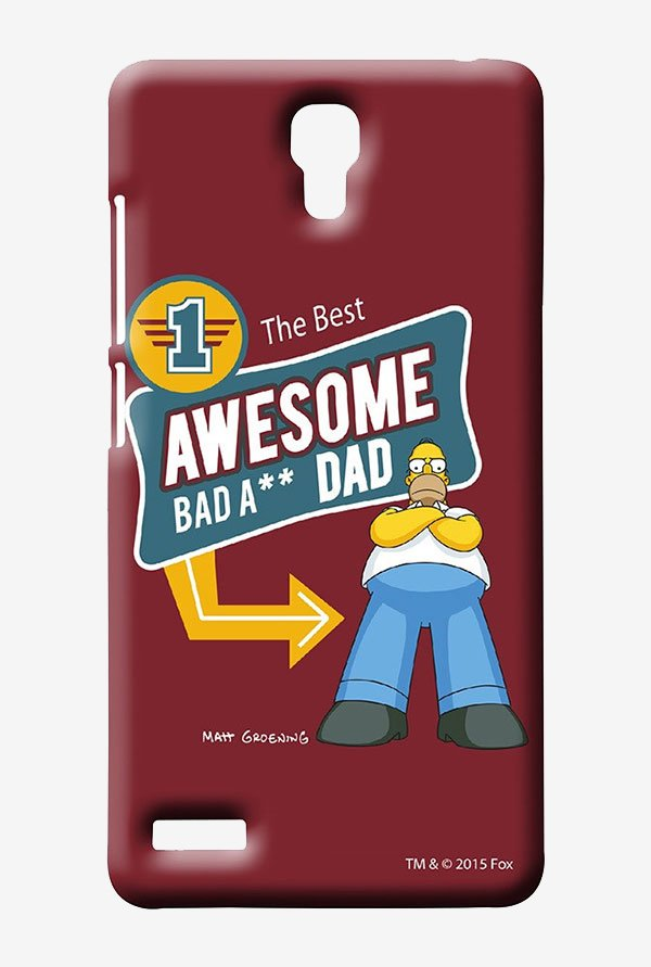 Simpsons Awesome Dad Case for Xiaomi Redmi Note 4G