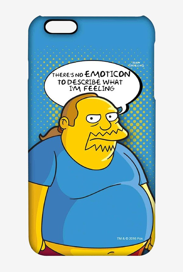 Simpsons Comic Guy Case for iPhone 6 Plus