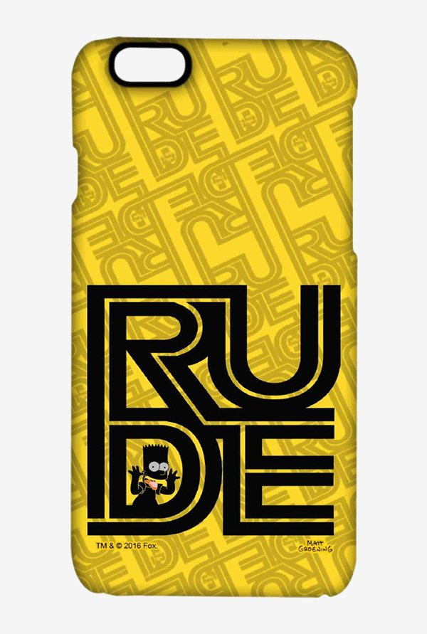 Simpsons Rude Case for iPhone 6