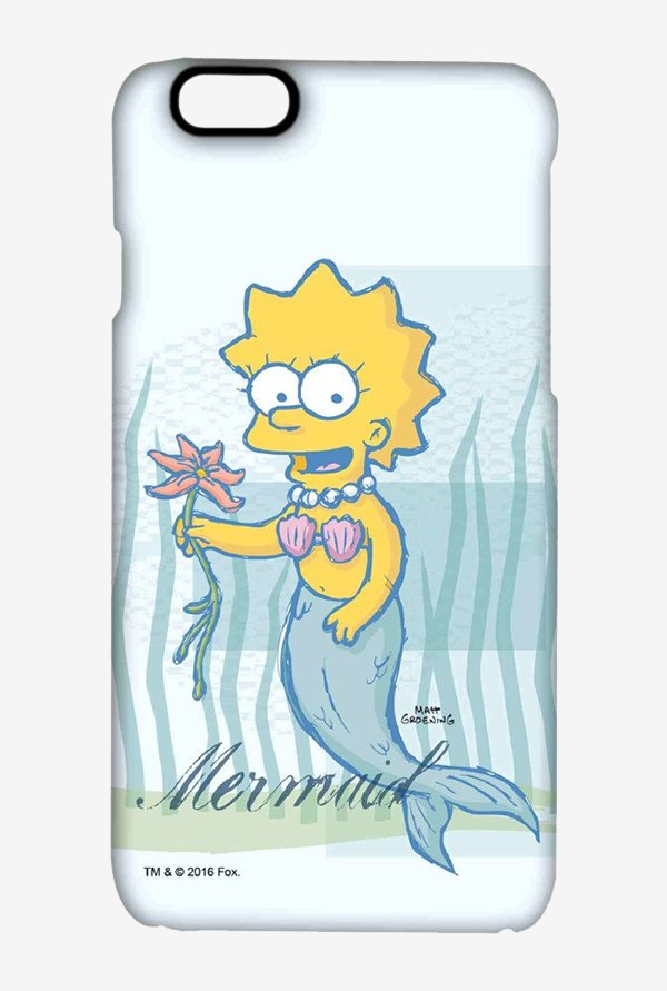 Simpsons Mermaid Case for iPhone 6