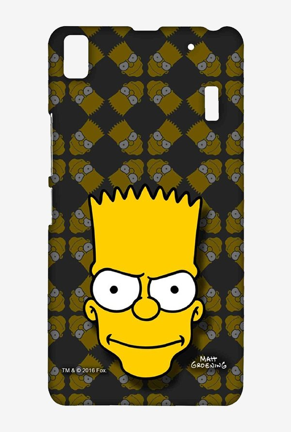 Simpsons Bartface Case for Lenovo K3 Note