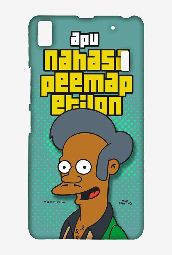 Simpsons Apu Case for Lenovo K3 Note