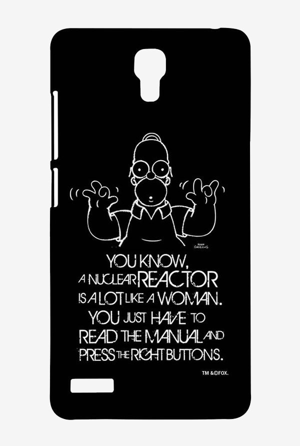Simpsons Nuclear Reactor Case for Xiaomi Redmi Note Prime
