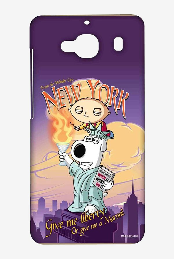 Family Guy Brian Liberty New York Case for Redmi 2 Prime