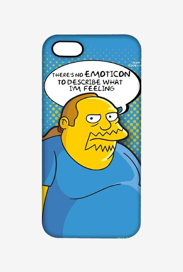 Simpsons Comic Guy Case for iPhone 5/5s
