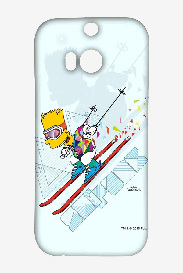 Simpsons Ski Punk Case for HTC One M8
