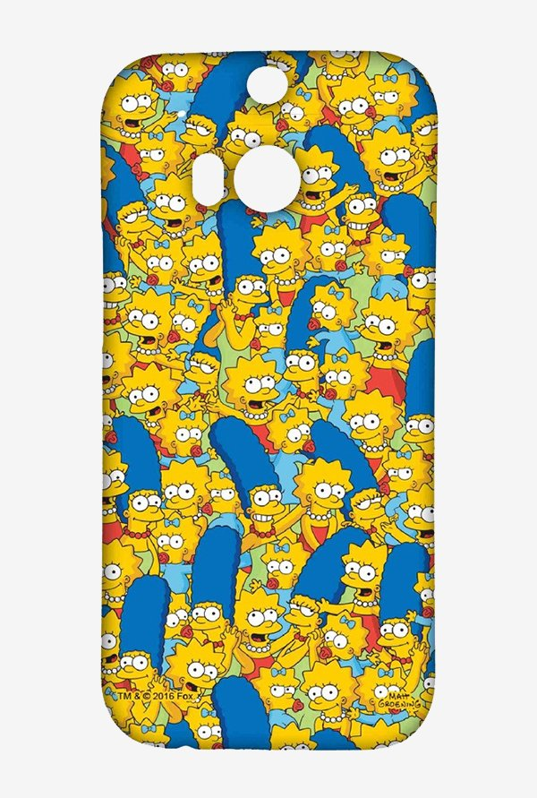 Simpsons Pattern Case for HTC One M8