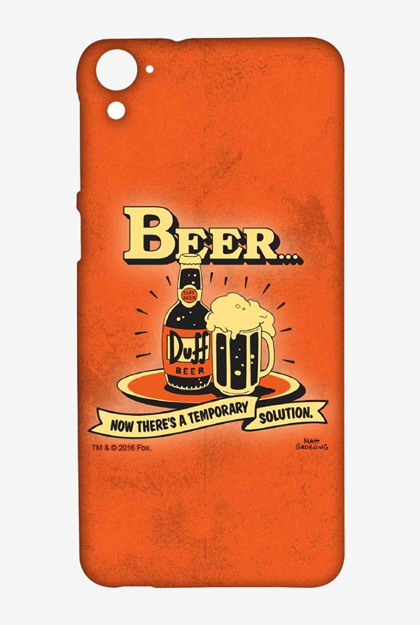 Simpsons Temporary Solution Case for HTC Desire 826