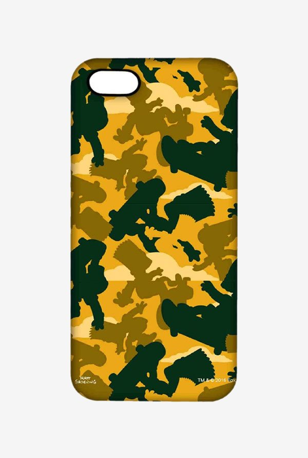 Simpsons Camo Bart Case for iPhone 5/5s