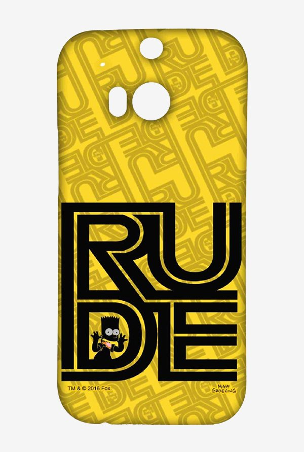 Simpsons Rude Case for HTC One M8
