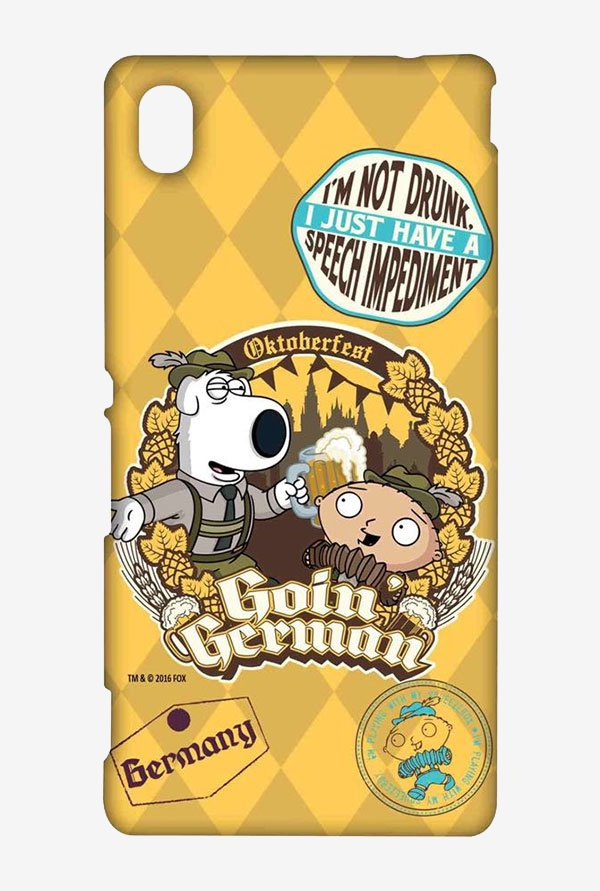 Family Guy Going German Case for Sony Xperia M4