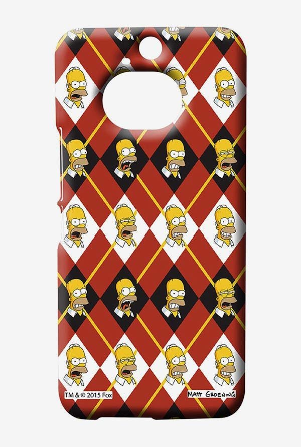 Simpsons Homer Moods Case for HTC One M9 Plus