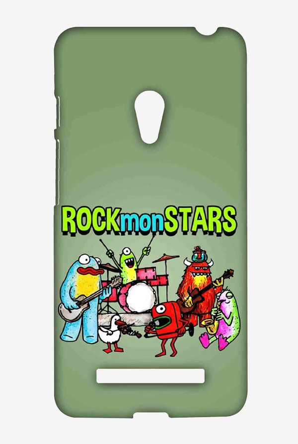 Kritzels Rockmonstars Case for Asus Zenfone 5