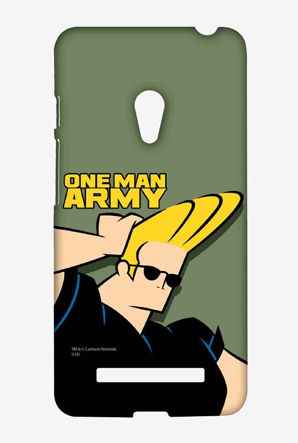 Johnny Bravo One Man Army Case for Asus Zenfone 5