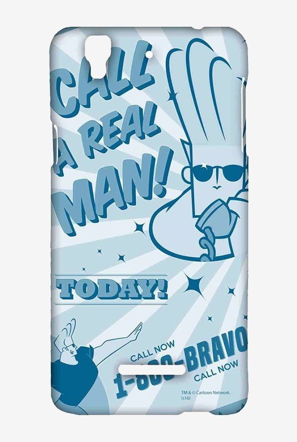 Johnny Bravo The Real Man Case for Yu Yureka