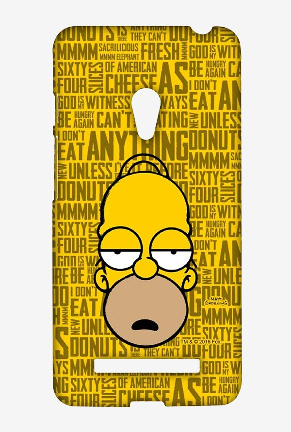 Simpsons Homer Says Case for Asus Zenfone 5