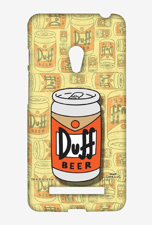 Simpsons Duff Beer Case for Asus Zenfone 5