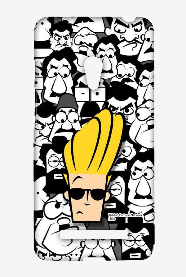 Johnny Bravo Doodle Case for Asus Zenfone 5