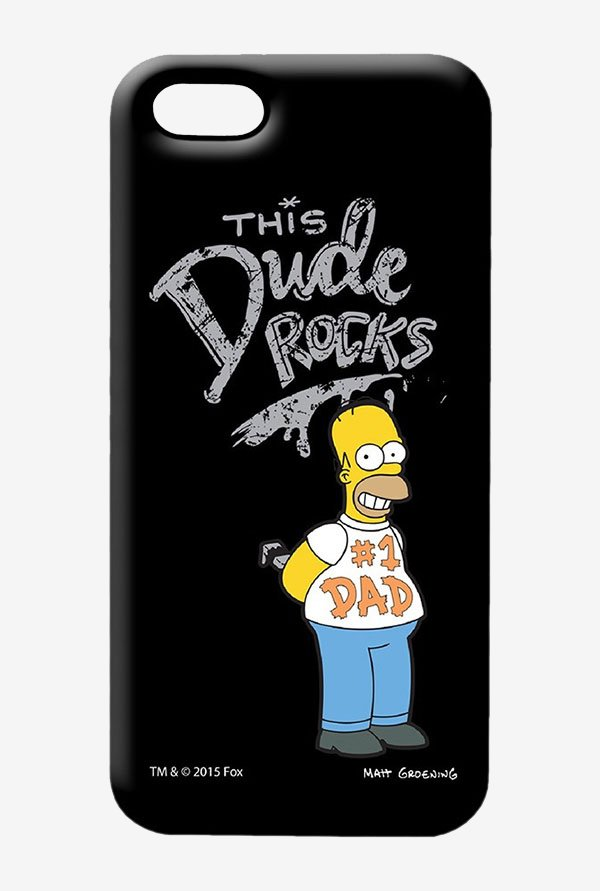 Simpsons This Dude Rocks Case for iPhone 5/5s
