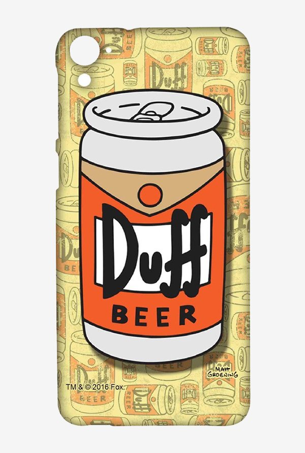 Simpsons Duff Beer Case for HTC Desire 826