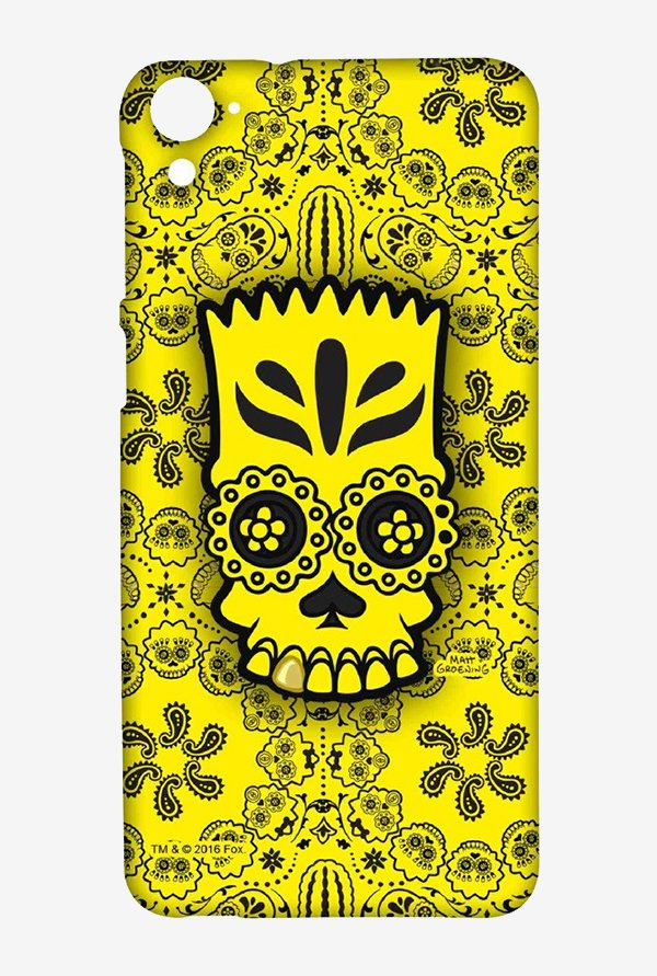 Simpsons Celtic Bart Case for HTC Desire 826