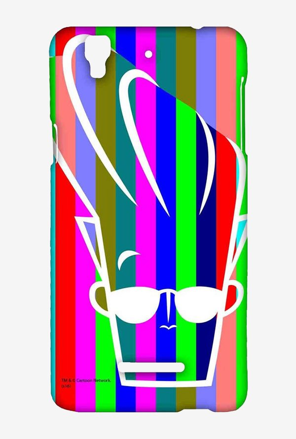 Rainbow Johnny Bravo Case for Yu Yureka