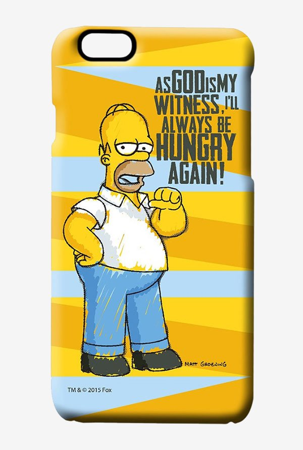 Simpsons Hungry Homer Case for iPhone 6
