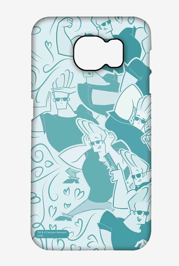Artistic Johnny Bravo Case for Samsung S6 Edge Plus