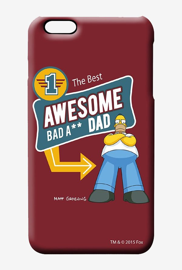 Simpsons Awesome Dad Case for iPhone 6 Plus