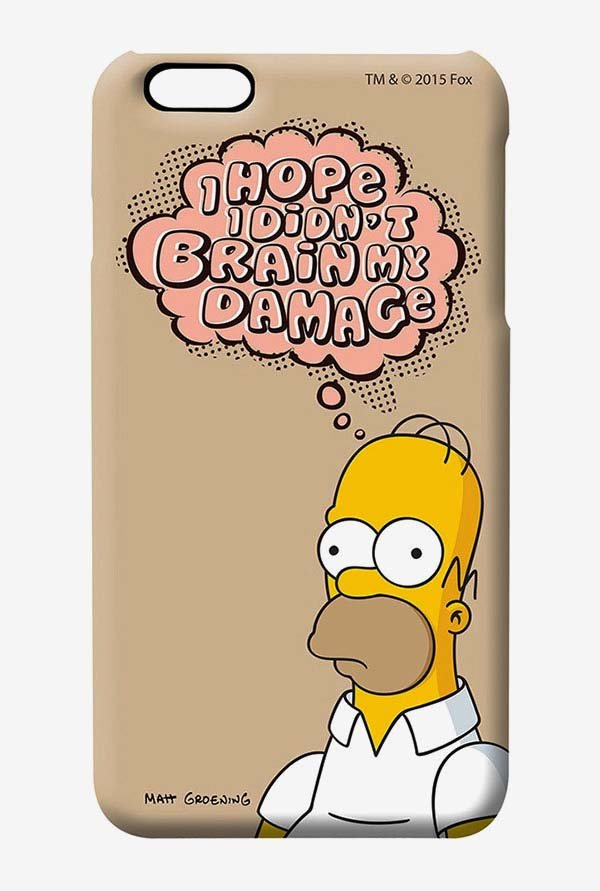 Simpsons Brain Humour Case for iPhone 6 Plus