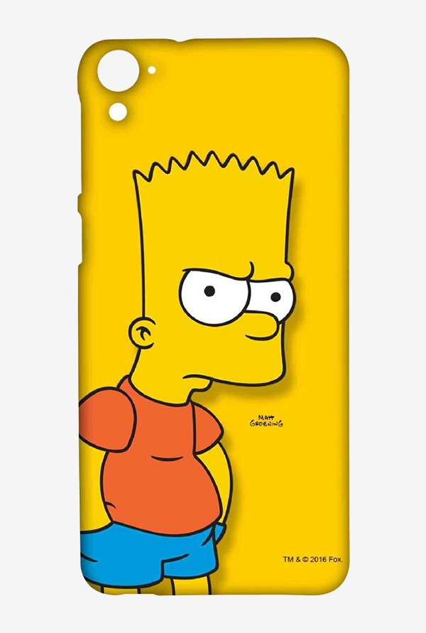 Bart Simpson Case for HTC Desire 826
