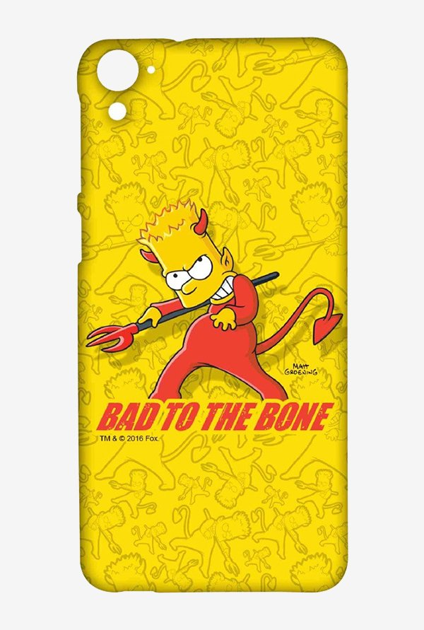 Simpsons Bad To The Bone Case for HTC Desire 826