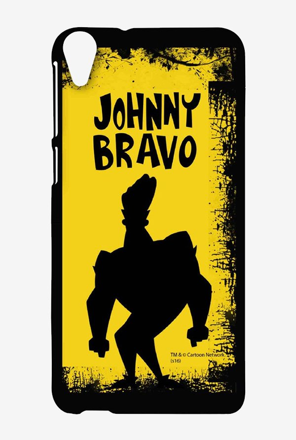 Johnny Bravo Yellow Grunge Case for HTC Desire 820